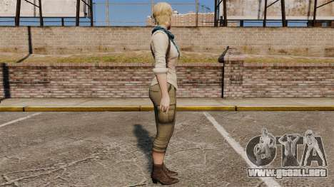 Sherry Birkin para GTA 4 segundos de pantalla