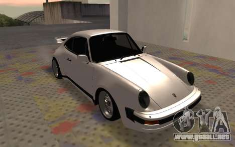 Porsche 911 Turbo para GTA San Andreas left