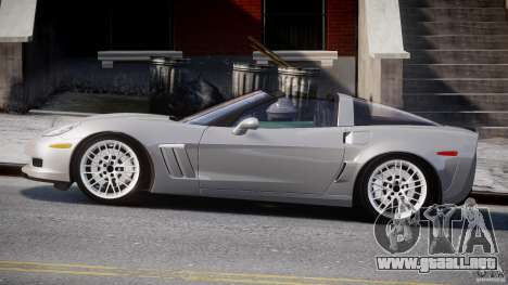Chevrolet Corvette Grand Sport 2010 v2.0 para GTA 4 left