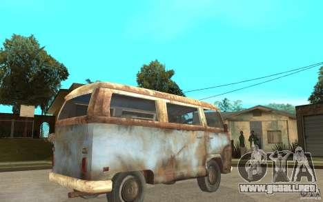 Dharma-Van (VW Typ 2 T2a) para la visión correcta GTA San Andreas