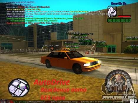 Sobeit for CM v0.6 para GTA San Andreas segunda pantalla