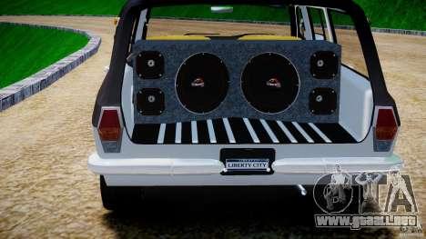 GAZ 24-12 1986-1994 Tuning para GTA 4 vista desde abajo