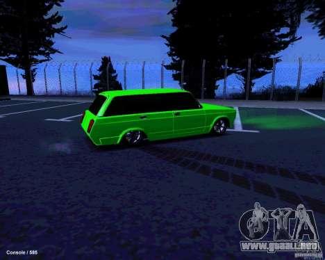 VAZ 2104 para la vista superior GTA San Andreas