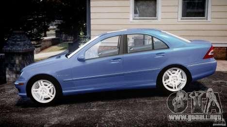 Mercedes-Benz C32 AMG 2004 para GTA 4 left