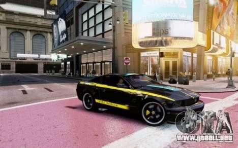 Ford Mustang (Shelby Terlingua) v1.0 para GTA 4 Vista posterior izquierda