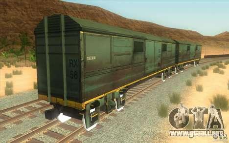 Un tren del juego Half-Life 2 para visión interna GTA San Andreas
