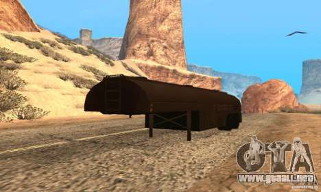 Remolque duelo Peterbilt para GTA San Andreas