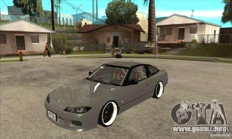 Nissan Silvia S15 1999 para GTA San Andreas
