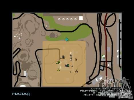 Nuevos cursores para GTA San Andreas segunda pantalla
