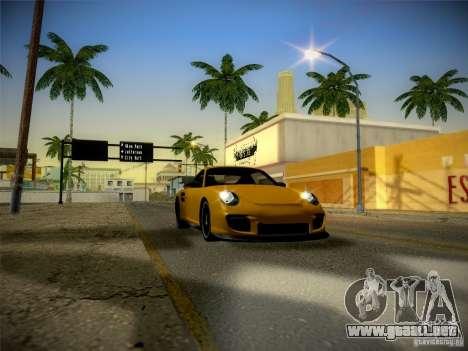 Porsche 997 GT2 para visión interna GTA San Andreas