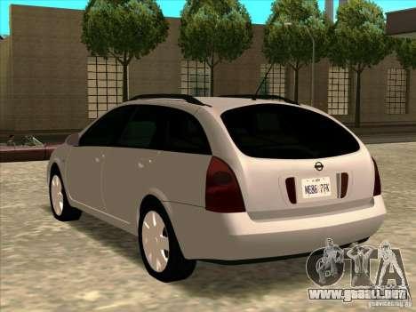Nissan Primera Wagon para GTA San Andreas left