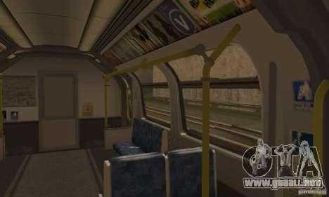 London Metro para la visión correcta GTA San Andreas