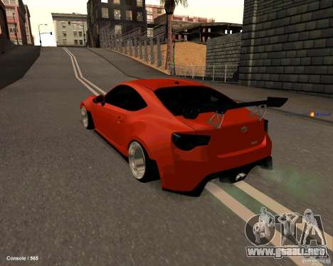 Scion FR13 para GTA San Andreas left