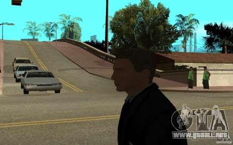 Agente 007 para GTA San Andreas sucesivamente de pantalla