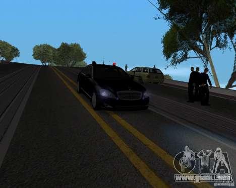 Emergency Lights para GTA San Andreas segunda pantalla