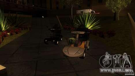 Elektroscooter - Speedy para GTA San Andreas left