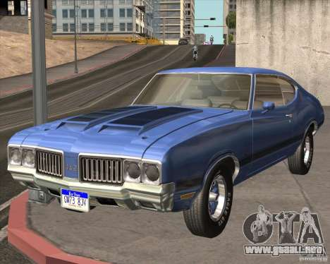 Oldsmobile 442 (fixed version) para GTA San Andreas