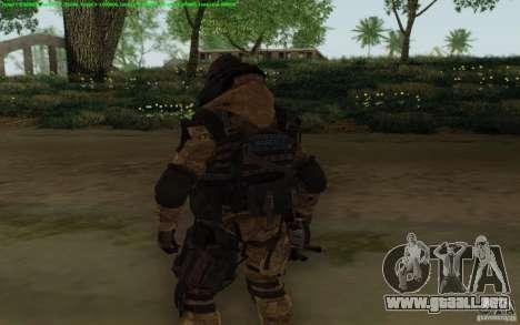 Francotirador Warface para GTA San Andreas tercera pantalla