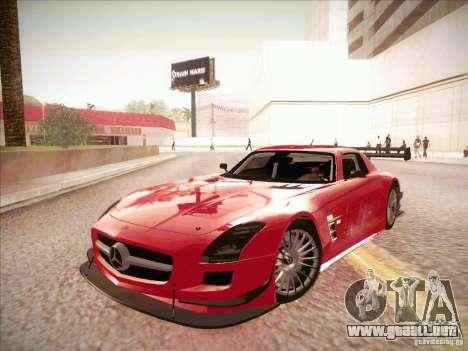 Mercedes-Benz SLS AMG GT-R para GTA San Andreas left