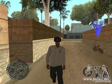 Ushanka para GTA San Andreas tercera pantalla