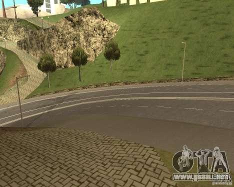 Nuevos caminos en Vinewoode (Los Santos) para GTA San Andreas tercera pantalla