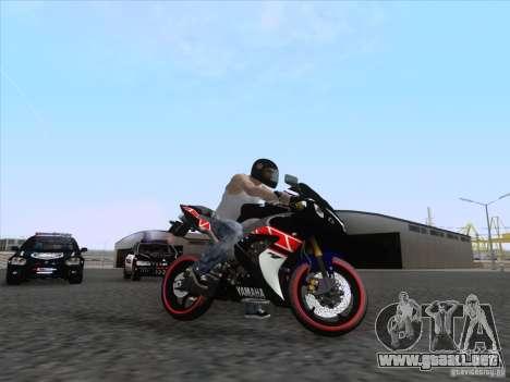 Yamaha YZF R1 2012 para la visión correcta GTA San Andreas