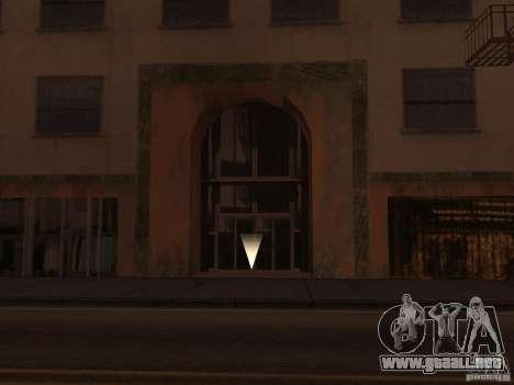 Apartamento secreto para GTA San Andreas segunda pantalla