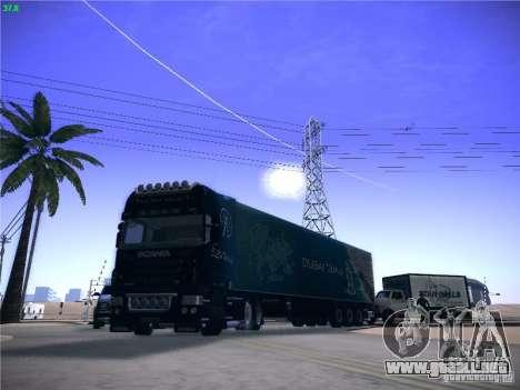 Scania R620 Dubai Trans para visión interna GTA San Andreas