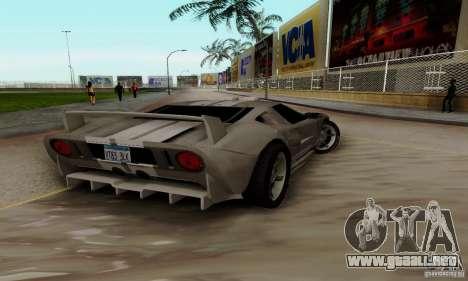 Ford GT Tuning para la visión correcta GTA San Andreas