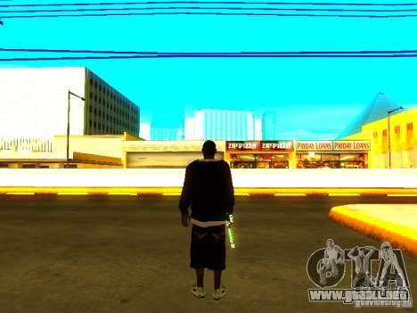Nuevo Ballas gruesa para GTA San Andreas sucesivamente de pantalla