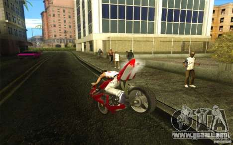 Yamaha YZF R1 Tuning Version para GTA San Andreas left
