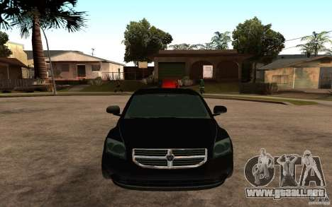Dodge Caliber para la visión correcta GTA San Andreas