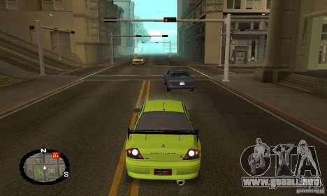 Carreras callejeras para GTA San Andreas novena de pantalla