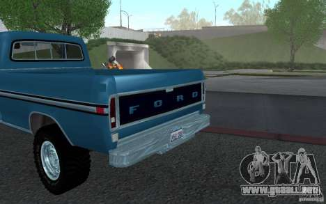 Ford F150 Ute 1976 para la visión correcta GTA San Andreas