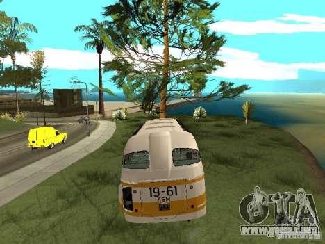 LAZ 695E para visión interna GTA San Andreas