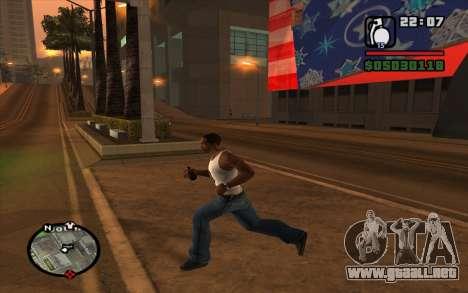 RGD-5 para GTA San Andreas segunda pantalla