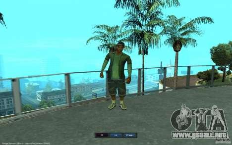 Crime Life Skin Pack para GTA San Andreas octavo de pantalla