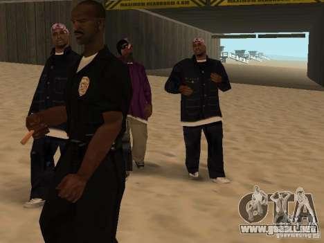 Tenpenny para GTA San Andreas sucesivamente de pantalla