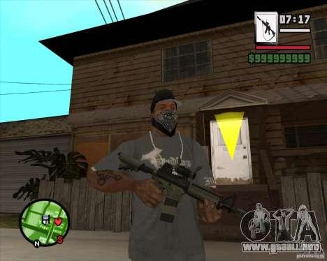 HQ M4A1 - DMG MK11 para GTA San Andreas