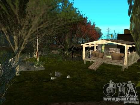 New Grove Street TADO edition para GTA San Andreas novena de pantalla