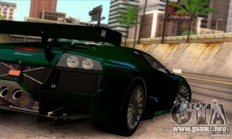 Lamborghini Murcielago R-SV GT1 para vista inferior GTA San Andreas