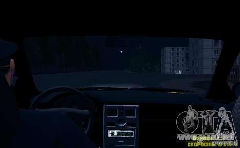 LADA Priora 2170 Taxi TMK Afterburner para GTA San Andreas interior