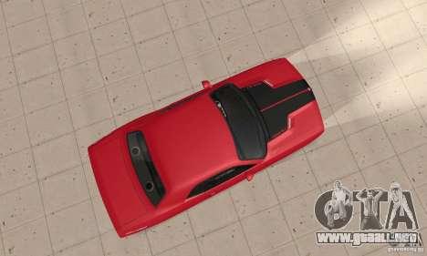 Dodge Challenger 2007 para la visión correcta GTA San Andreas