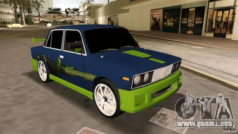 2106 VAZ Tuning v2.0 para GTA Vice City left