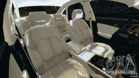 Audi A6 para GTA 4 vista interior