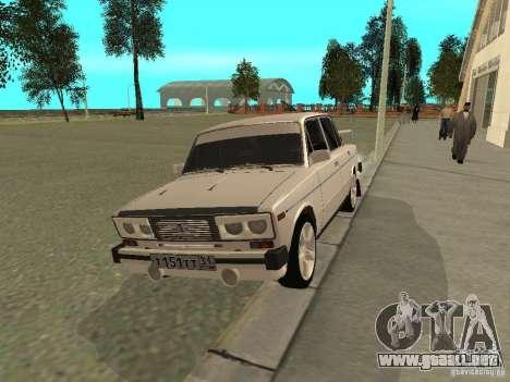 Estilo del oeste 2106 VAZ para GTA San Andreas