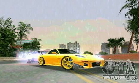 Mazda RX7 RE-Amemiya para GTA Vice City