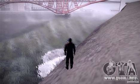 ENB By SilveR v1.0 para GTA San Andreas sucesivamente de pantalla
