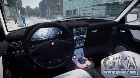 Gaz-31105 para GTA 4 vista hacia atrás