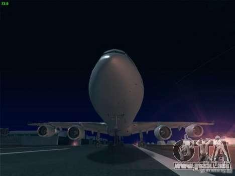 Airbus A340-600 Singapore Airlines para la visión correcta GTA San Andreas